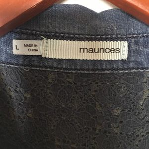 Maurices Dresses - The denim dress of your dreams!